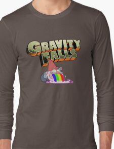 gravity falls gnome puke Long Sleeve T-Shirt