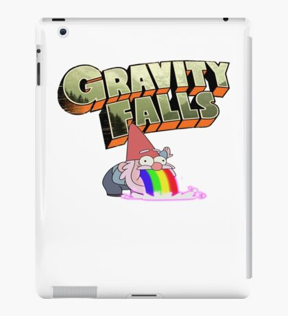 gravity falls gnome puke iPad Case/Skin