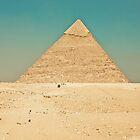 Pyramid of Giza by Chris Bavaria