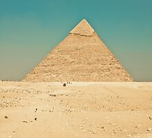 Pyramid of Giza by Chris Bavaria
