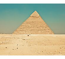 Pyramid of Giza Photographic Print