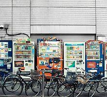 Vending Machines, Tokyo by Chris Bavaria