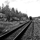 Fort Langley Train Station by Lesliebc