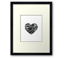 I Heart Pixar Framed Print