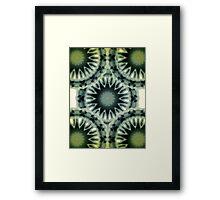 ©DA Fractal Star I Framed Print