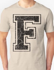 F - the Letter T-Shirt