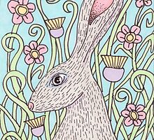 Springtime Hare by AnnaBaria