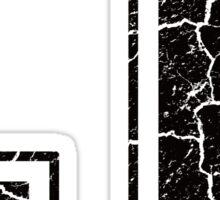 J - the Letter Sticker