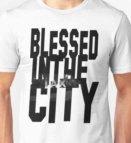 Blessed In The City-LAX Unisex T-Shirt