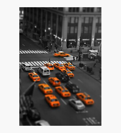 Taxi!!! Photographic Print