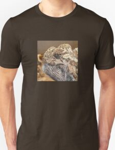 Chameleon With Sinister Facial Expression T-Shirt