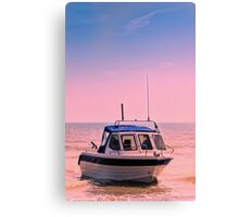 Leisure boat Canvas Print