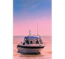 Leisure boat Photographic Print