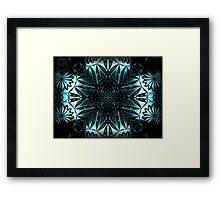 ©DA Fractal Star V Framed Print