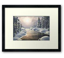 WINTER PIECE Framed Print