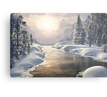WINTER PIECE Metal Print