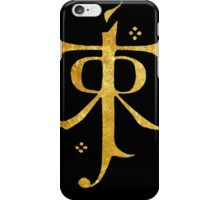 Lord of the Rings Symbol iPhone Case/Skin