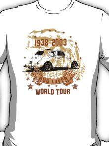 Bug WORLD TOUR 1938 - 2003 T-Shirt T-Shirt