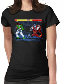 Sewer Fighter Womens Fitted T-Shirt