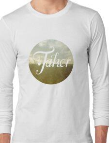 BlueFakerBlurred Long Sleeve T-Shirt