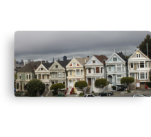 The Painted Ladies of San Francisco... Canvas Print