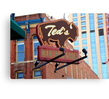 Denver - Ted's Montana Grill Canvas Print
