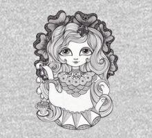 Lady Grey One Piece - Short Sleeve