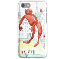 The Chewing Gum Man iPhone Case/Skin
