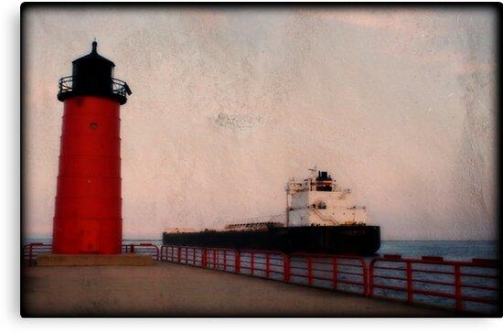 Pierhead Lighthouse © by Dawn M. Becker