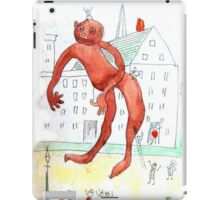 The Chewing Gum Man iPad Case/Skin