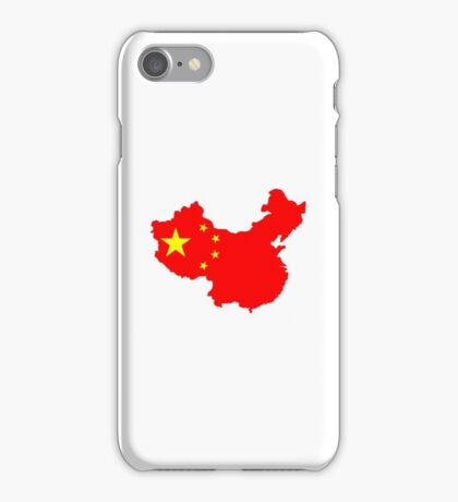 Map of China iPhone Case/Skin