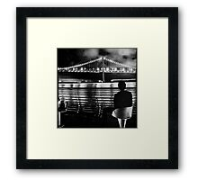 Bay Bridge Framed Print