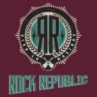 Rock Republic V-neck Pocket Emblem LHS by Winstonian