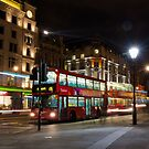 London Buses by Tanasha
