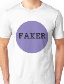 FakerBlueCircle Unisex T-Shirt