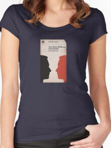 From the Library of Don Draper Women's Fitted Scoop T-Shirt