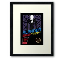 Slender EES Framed Print