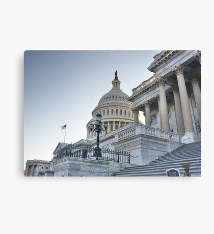 Powerful Capital Canvas Print