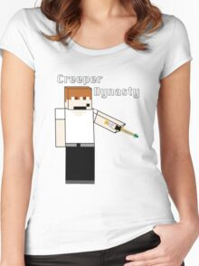Creeper's Sonic Screwdriver Women's Fitted Scoop T-Shirt