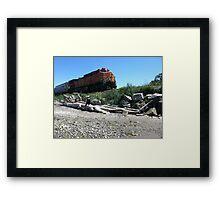 Edmonds Train Framed Print
