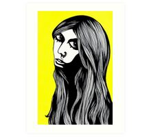 Bianca Art Print