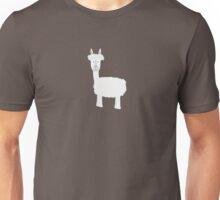 White Alpaca Unisex T-Shirt