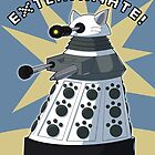 White Kitty Dalek by NeroStreet