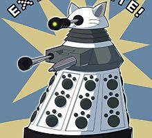 White Kitty Dalek by NeroStreet