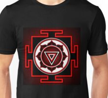 Indian symbol of Kali Yantra Unisex T-Shirt