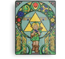 Link's Art Nouveau Metal Print