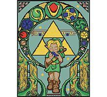 Link's Art Nouveau Photographic Print