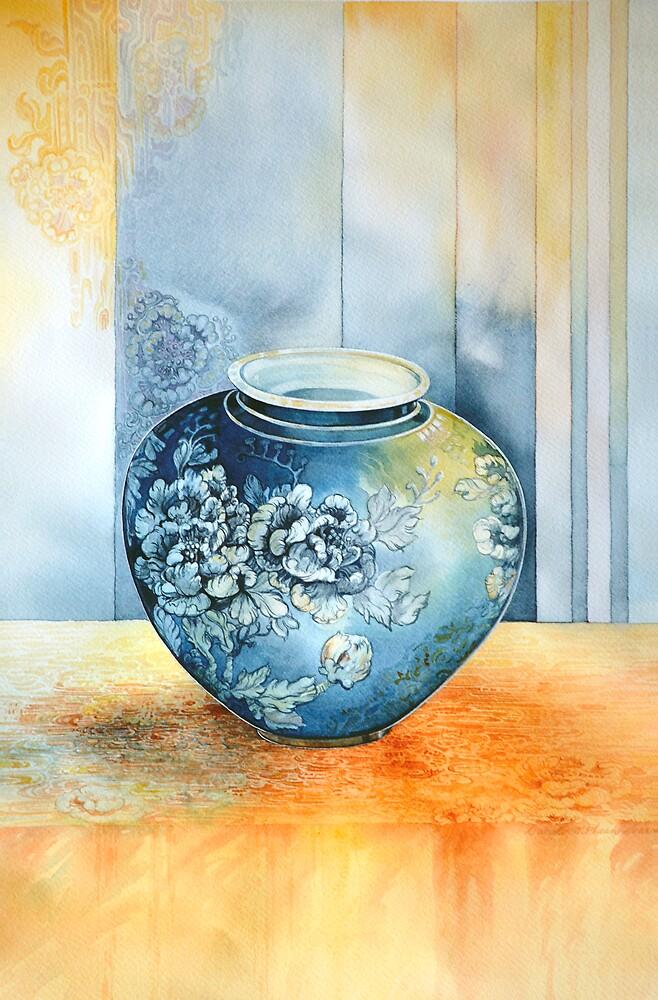 Ginget Pot 2  by Carol McLean-Carr