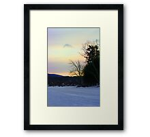 A View From the Lake Framed Print