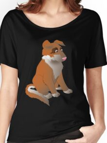 Cartoon Dog Women's Relaxed Fit T-Shirt